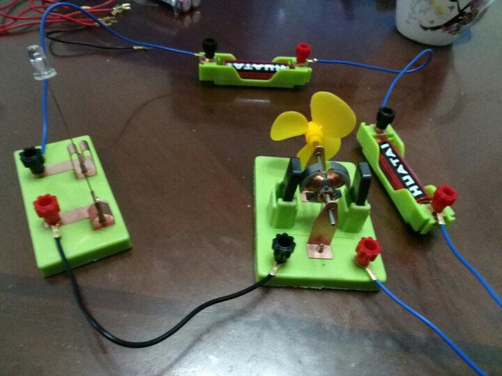 生本教育电学实验箱 初中物理实验器材箱 八年级科学电学实验器材 初三九年级物理电学电路器 晒单图