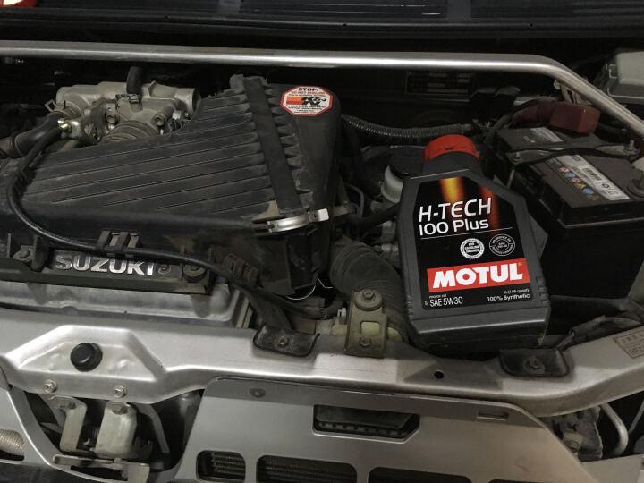 摩特 (MOTUL)H-TECH 100 PLUS 全合成机油润滑油0W-40 SN级 4L 晒单图
