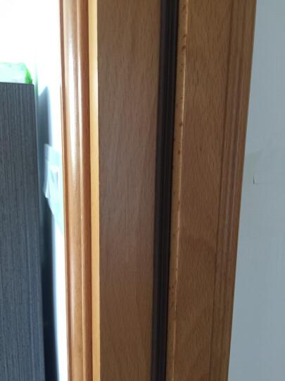 蒙莱奇门窗密封条塑钢窗防撞条隔音条门缝隙防风防尘条柜门防虫条木门防盗门房门缝防风保暖贴条 5米装 黑色 E型 5米装 晒单图