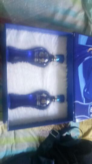 众谷合45度浓香型白酒 500ml*2瓶高档礼盒装礼品酒 高粱酒粮食酒 晒单图