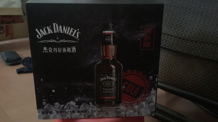 杰克丹尼(Jack Daniel`s)洋酒 威士忌 预调酒 鸡尾酒 苹果味330ml*1瓶 晒单图