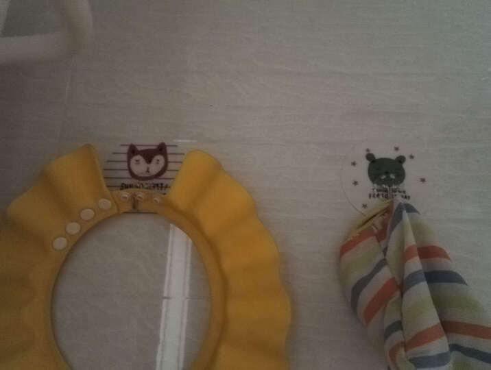 挂钩强力粘胶粘钩无痕钉门后创意吸盘墙壁挂厨房浴室承重衣架钩子 8个装-蝴蝶升级款 晒单图