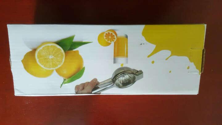 B&y 手动不锈钢榨汁器 304钢榨汁机 橙子柠檬压汁 家用迷你水果机 304不锈钢款 大号 晒单图