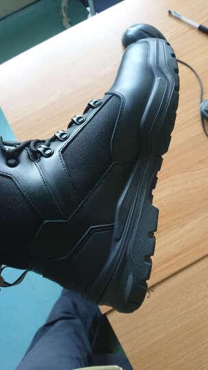 龙牙(Dragon Tooth) 龙牙城市猎人战术通勤靴作战靴男运动鞋靴男士运动鞋铁血君品 黑色 42 晒单图