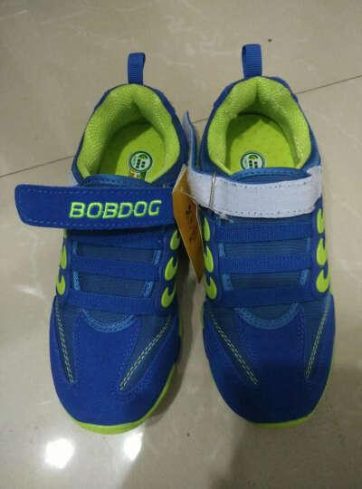 童鞋中小童休闲鞋BQ6801 宝蓝绿 35\/22.1cm内