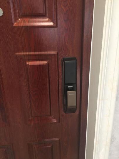 三星samsung指纹锁电子锁智能门锁密码锁防盗门锁家用P718  古铜色 晒单图
