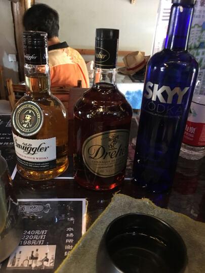 进口洋酒 克朗部落调配威士忌 格兰斯伏特加 SKYY伏特加 烈酒创意套装3瓶装 克+格+skyy 晒单图