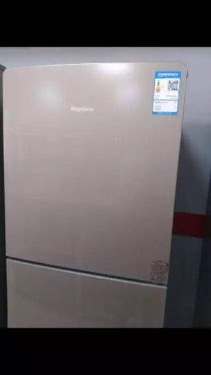 荣事达(Royalstar) 211升 三门冰箱 风冷无霜 中门软冷冻 电脑控温 浅咖金 BCD-211WTEZR 晒单图