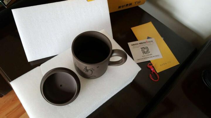 丁山 宜兴紫砂壶 办公泡茶紫砂杯整套茶具套装茶壶茶杯全纯手工水杯子 B3 静心 晒单图