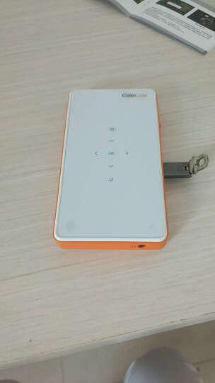 酷乐视(CooLux) Q6 手持便携式微型投影机家用手机投影仪迷你 高清智能无屏电视 精英版【魅力橙色 纯净投影】 晒单图
