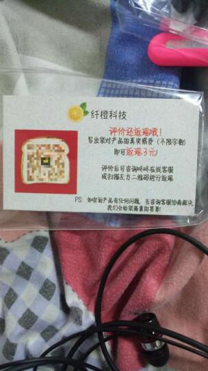 手机耳机入耳式有线一加6红米note7荣耀10v20play华为oppor17vivoz5x安卓原装 黑色 晒单图