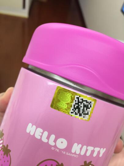 膳魔师(THERMOS) 宝宝辅食保温罐儿童高高真空不锈钢保温防漏食物罐313ml 粉色 晒单图