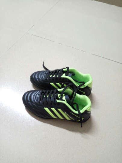 古农男子足球鞋儿童男女学生碎钉足球鞋长钉足球鞋专业训练比赛足球鞋 QHCK-688蓝色 36 晒单图