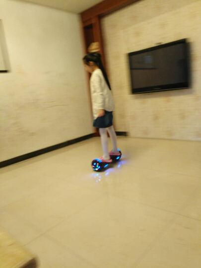 傲凤(AOFENG) 傲凤 儿童平衡车 双轮成人电动代步车两轮智能体感漂移车思维车 6.5吋LED轮毂跑马灯/手提式-火焰红 晒单图