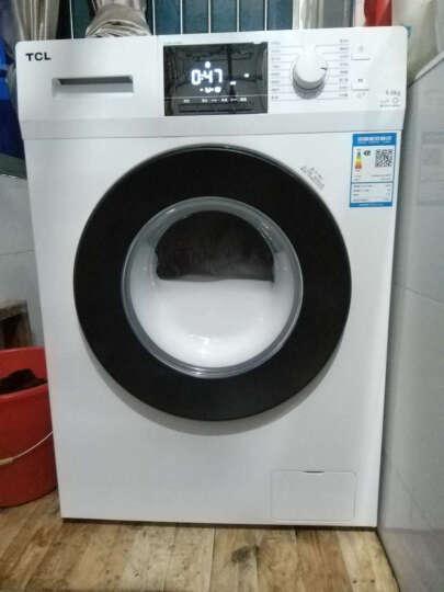 TCL 9公斤 变频全自动滚筒洗衣机 羽绒服洗 中途添衣 节能静音 16种洗涤程序高温除菌(芭蕾白)XQG90-P300B 晒单图