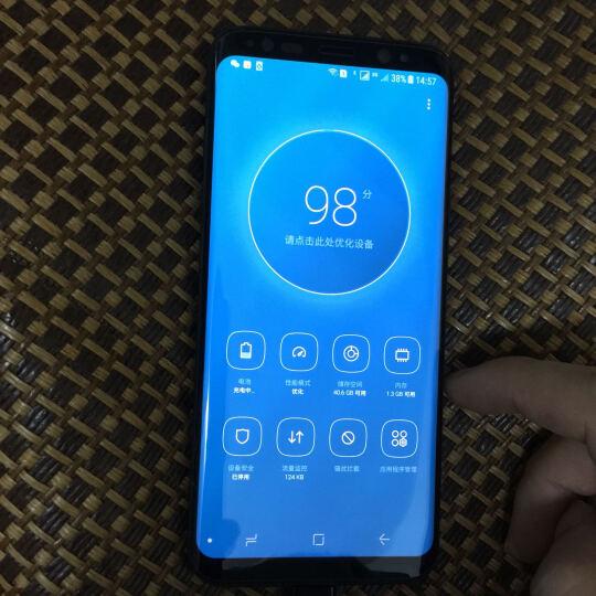 三星 Galaxy S8(SM-G9500)4GB+64GB 雾屿蓝 移动联通电信4G手机 双卡双待 晒单图