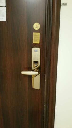 箭牌(ARROW)指纹锁防盗门家用A807密码锁智能大门锁卡开白条电子锁 防撬组合开 红古铜右开+全国免费上门安装+3年质保 晒单图