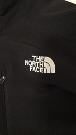 北面防风夹克男士外套 The North Face 户外17春夏新品软壳衣 CVH1 蓝色JVL L 晒单图