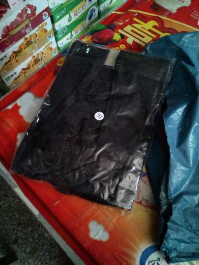 【两件装】慕风产后收腹裤塑形冰丝无痕收胃塑身裤 高腰提臀瘦身美体塑腰裤 黑色+黑色(经典款) XL(建议体重115-130斤) 晒单图