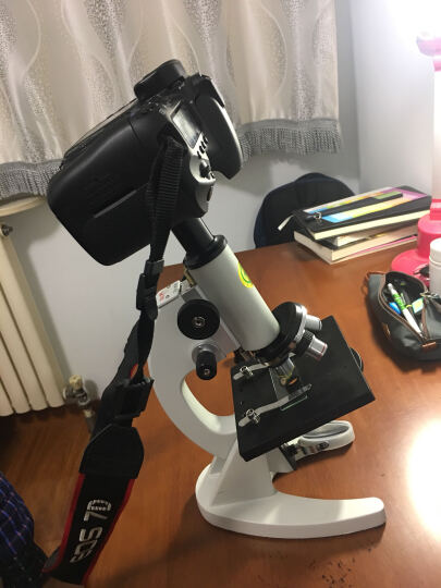 显微镜套筒转接环 标准生物显微镜23.2mm 接单反 微单相机拍摄摄影接口卡环 普通单反 晒单图