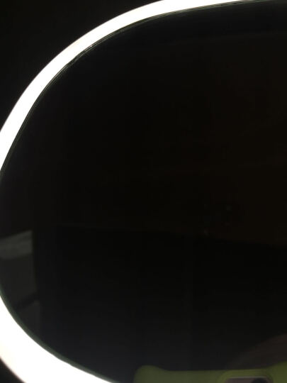 MUID化妆镜台 情人节礼物 生日礼物送老婆女生女朋友闺蜜 结婚礼物梳妆镜补光灯LED化妆镜 白色 晒单图