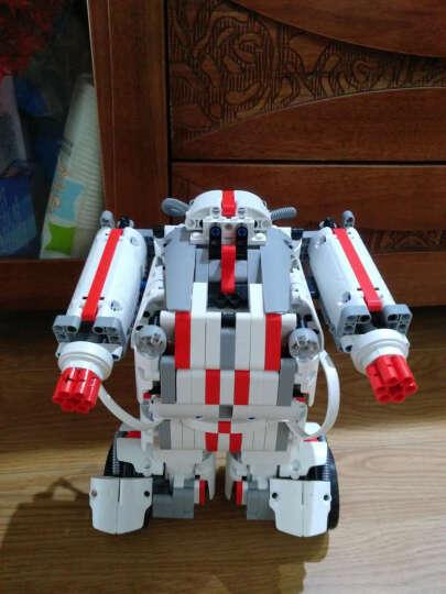 小米(MI)米兔积木机器人 小米机器人 多变造型 智能拼搭 智能自平衡 模块化图形编程 978块高精度零件 晒单图