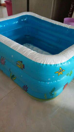 盈泰家庭大型海洋球池加厚家用戏水池婴儿童充气游泳池 1.3米泡泡底基本套餐-321A 晒单图