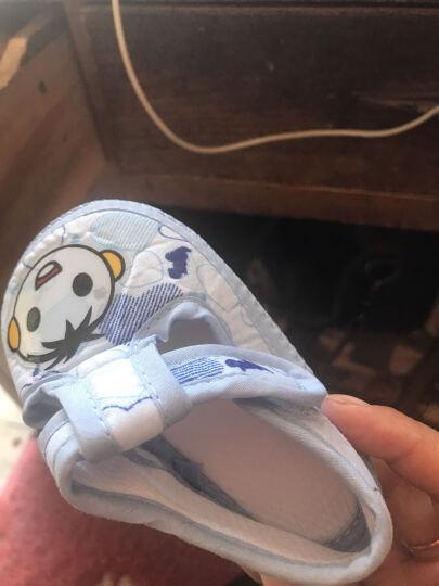 婴儿鞋春秋6-12个月女宝宝学步鞋1-2男宝宝鞋子0-1岁婴儿布鞋软底2017秋季学步鞋 64306紫色 13码(内长11.5cm) 晒单图