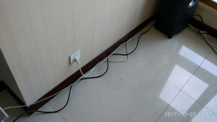 包尔星克 电脑主机显示器电饭煲电水壶家用电器电源线品字尾黑色5米(PowerSync)MPCPHX0500 晒单图