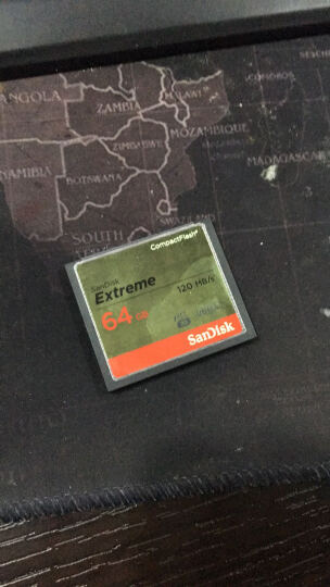 闪迪(SanDisk)16GB 读速160MB/s 写速150MB/s 至尊超极速CompactFlash存储卡 UDMA7 CF卡 晒单图