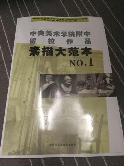 中央美术学院附中留校作品:素描大范本NO.1 晒单图
