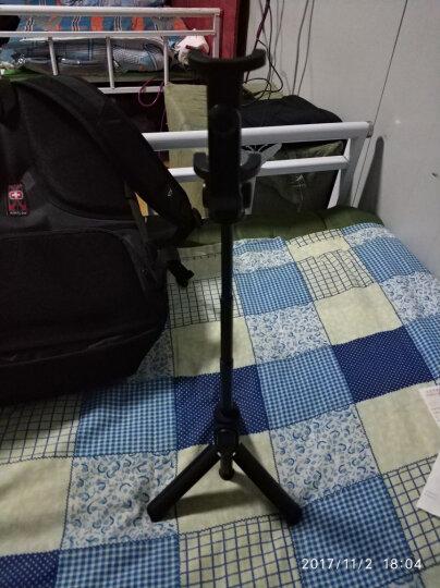 小米支架式自拍杆 黑色  蓝牙 遥控 迷你 便携 带三脚架多功能 直播支架 晒单图
