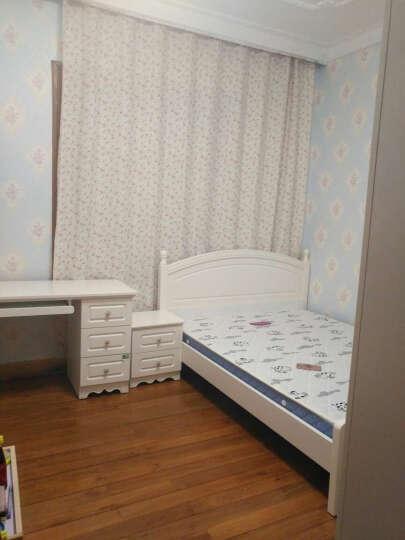双虎(SUNHOO) 青少年床1.5米田园家具青少年卧室家具套装13M5 床+床头柜*1+135004床垫 1500mm*2000mm 晒单图