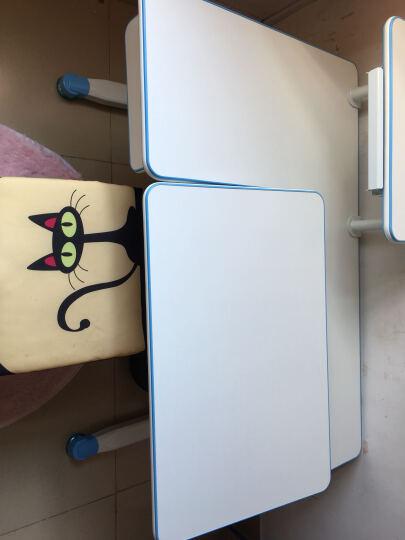 童姿星 儿童学习桌椅套装 可升降写字桌小孩作业桌小学生写字台儿童书桌可升降桌椅组合 纠姿学习桌椅 绿色桌子+椅子【长1.1米】 晒单图