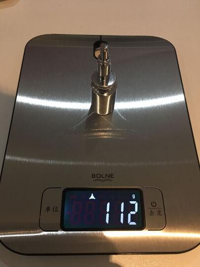 德国博浪(BOLNE)厨房秤1克称精准电子称 蛋糕烘培秤工具 家用烹饪食物称 不锈钢迷你电子秤5kg 晒单图