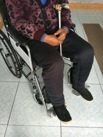 高博士(GAOBOSHI) 手推轮椅车折叠轻便老人坐便椅 半躺+餐桌 晒单图