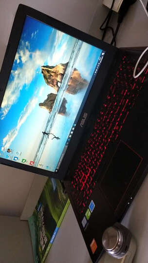 华硕(ASUS) 飞行堡垒尊享版二代FX53VD 15.6英寸游戏笔记本电脑(i5-7300HQ 4G 1T GTX1050 4G独显 FHD)红黑 晒单图