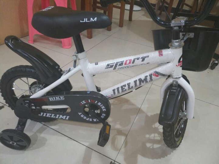 杰里米(Jielimi) 男女童车儿童自行车14寸16寸带辅轮 3/6/8岁小学生单车 新款黄色12寸 晒单图