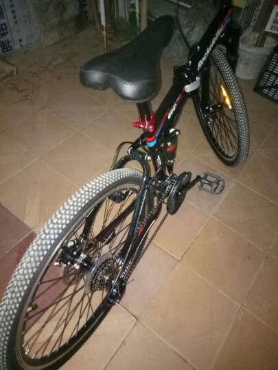 洛克菲勒(rockefeller)R450 26寸21速自行车/轴承中轴/培林花鼓/双碟刹山地车/一体轮(厂家配送) 晒单图