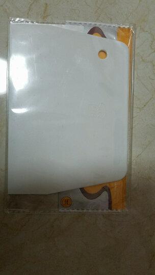 三能(sanneng) 三能刮刀 刮板 烘焙工具蛋糕抹奶油刮片月饼切面刀白色硬质塑料 晒单图