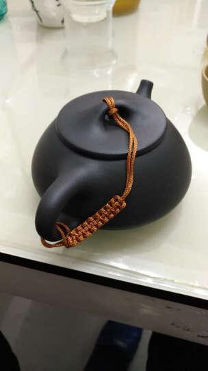 玉颐阁 宜兴紫砂壶名家范锡军纯手工 家用泡茶壶精品功夫茶具 一品竹段210ml 芝麻段 晒单图