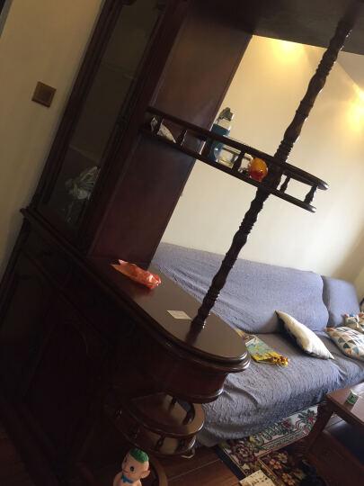 艾理思家具 美式间厅柜 欧式实木间厅柜 客厅隔断酒柜 晒单图