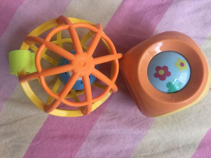 谷雨婴儿宝宝手抓球玩具叮咚滚圆声响软胶球0-3-6-12个月幼儿摇铃玩具球0-1岁响铃 儿童小孩玩具球两件套【软胶圆形+不倒猴】颜色随机 晒单图
