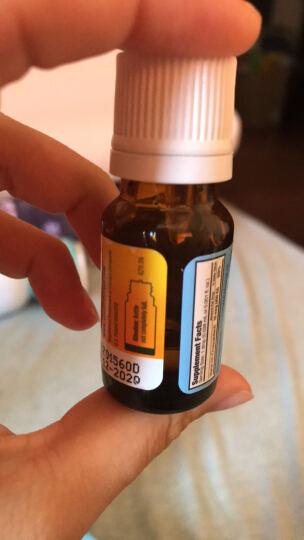 Ddrops baby婴幼儿童宝宝维生素D3滴剂 0岁以上 2.5ml 90滴 400IU 晒单图