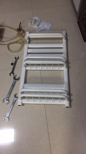 狮王 暖气片 家用散热器 钢制小背篓 卫生间筐背 颜色尺寸可定制 白色 800mm高*400mm中心距 晒单图