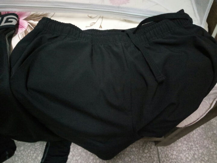 LINING李宁健身服运动套装跑步男速干运动服套装单件 女士四件套=短袖+短裤+长裤+外套 M 晒单图