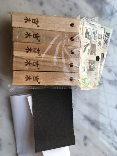 吉木 jammywood 樟木条 樟木块 香樟木 防虫防蛀 替代樟脑丸(10根装) 晒单图