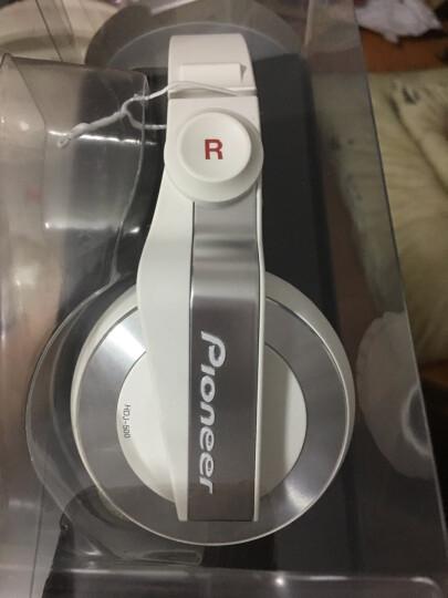 先锋(Pioneer) HDJ-X5  头戴式DJ耳机 封闭式 低阻抗 大耳罩 HDJ-500升级 HDJ-X5银色 晒单图