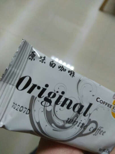 马来西亚原装进口白咖啡 咖啡城速溶咖啡 香醇咖啡粉 椰子白咖啡480g 晒单图