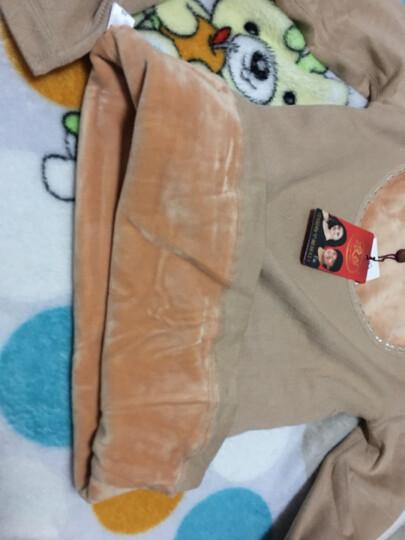 浪莎托胸保暖内衣女上衣长袖加绒加厚低领塑身紧身美体保暖内衣 粉红色 均码 均码(160-170/85-95) 晒单图